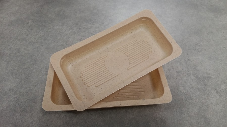 Barquette ''compostable''