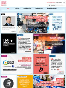 Access to the blog 2015 (in French)