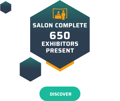 Salon complete - 650 exhibitors present